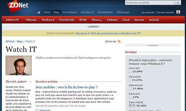 WatchIT - Chiffres, tendances et évolutions de l'informatique en entreprise.