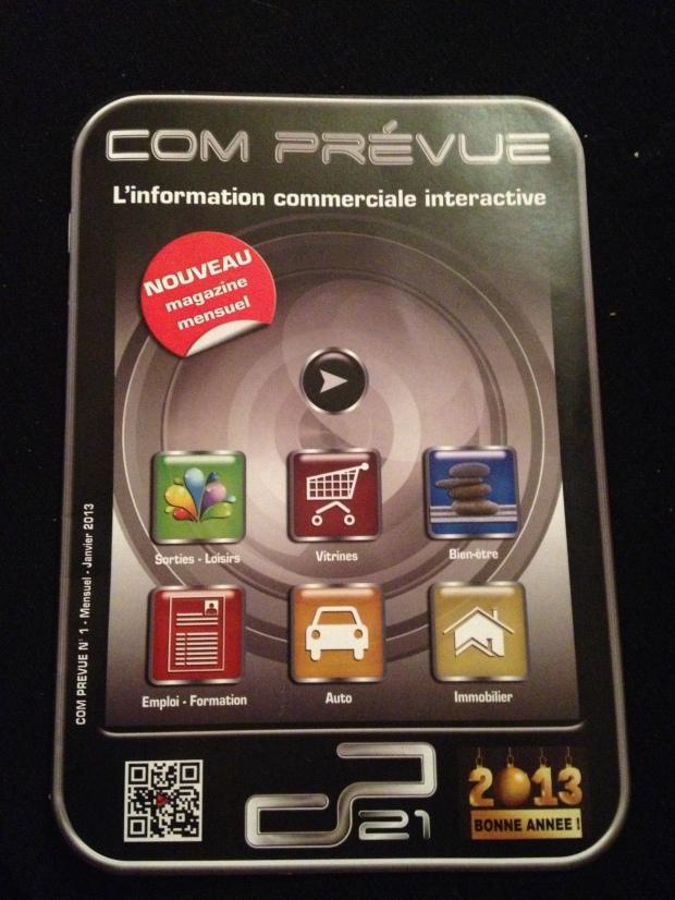 ComPrévue, magazine QR Code Dijon